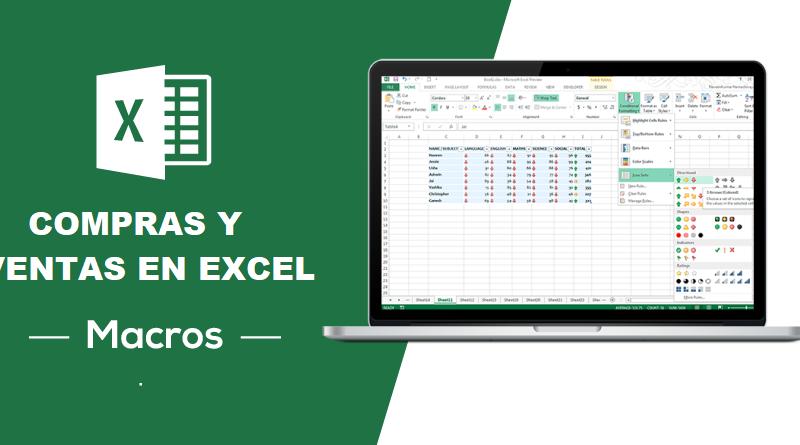 Macro Registro de Compras y Ventas en Excel-Gratis