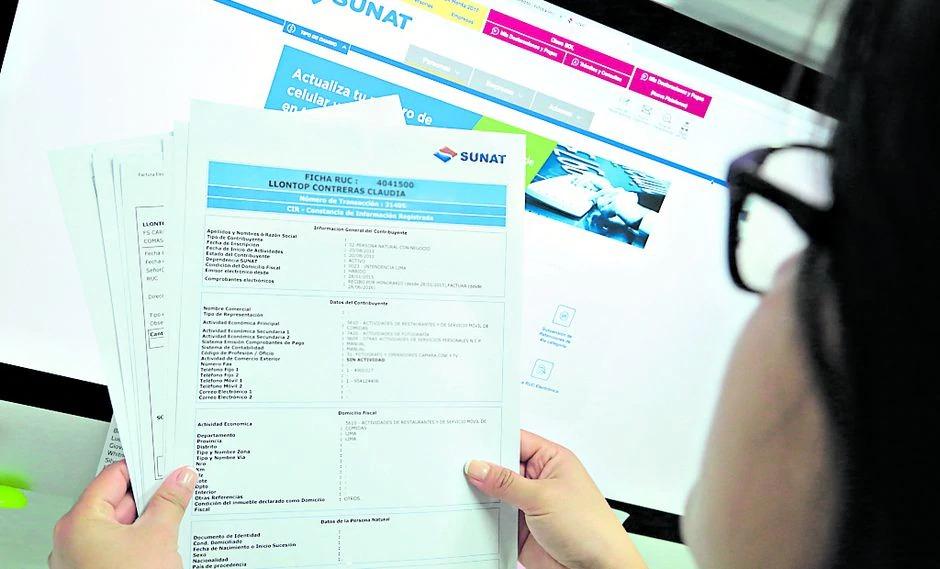 Las empresas que se constituyan vía electrónica tendrán RUC automático