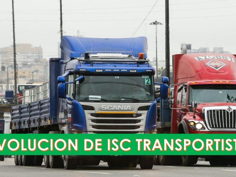 ISC Para transportistas ¿Cuál es el procedimiento para obtener la devolución?