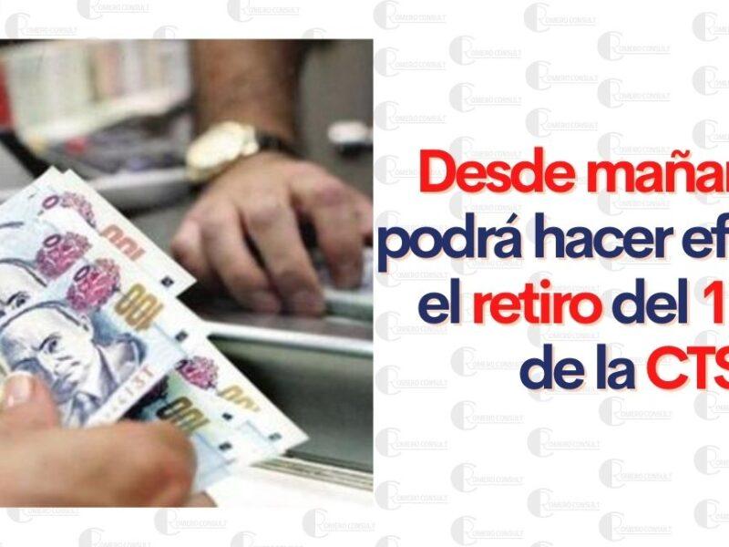 RETIRO DE 100% DE CTS YA ES OFICIAL ESTOS SERAN LOS PASOS PARA RETIRAR