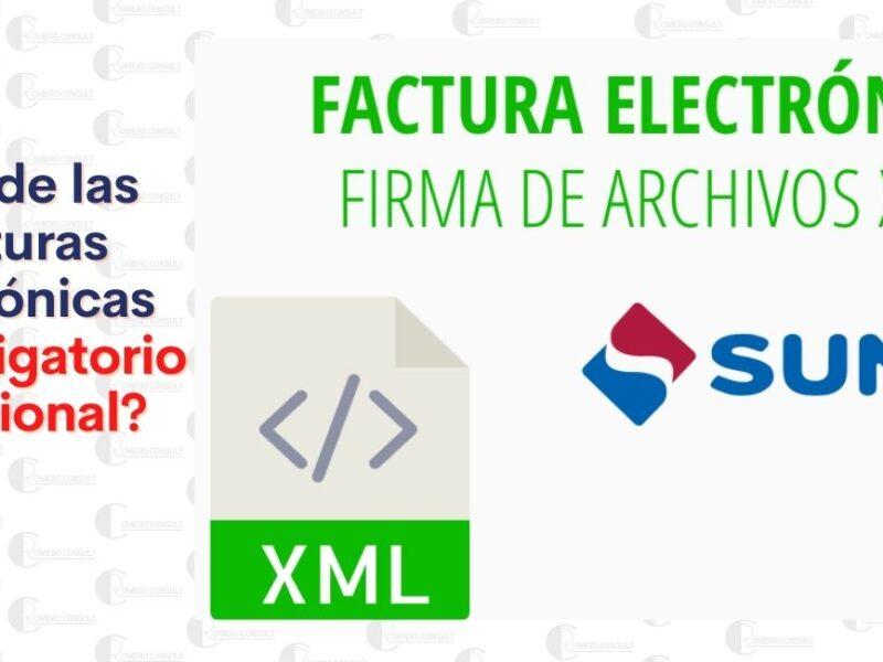 ¿Es obligatorio conservera los XML de las Facturas Electrónicas?
